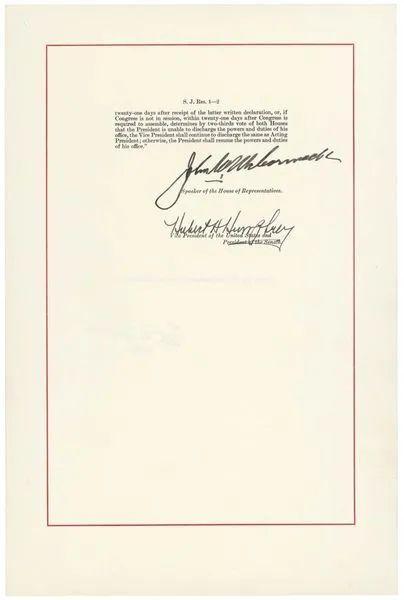 突发!佩洛西谋罢免川普总统 启动宪法第25修正案