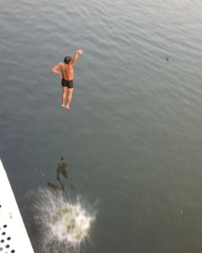 没人比天津人更懂跳河 有多少天津人在相约跳河?