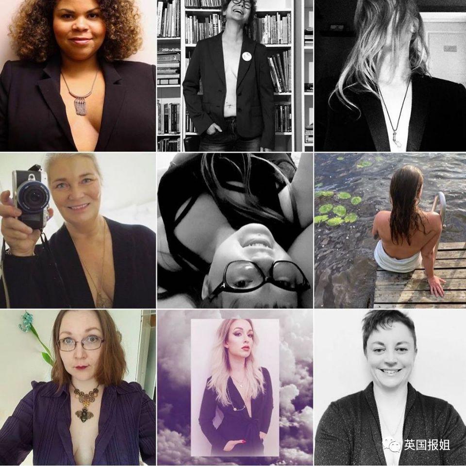 女总理拍露胸写真被喷辱国!千名女网友拍照声援