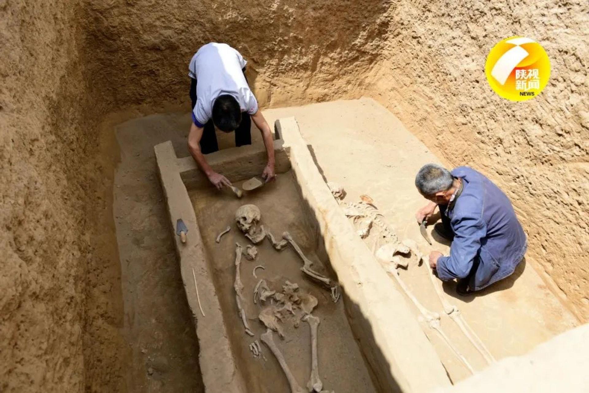 考古大跃进:发现4千年前大墓 女性陪葬手段极残忍