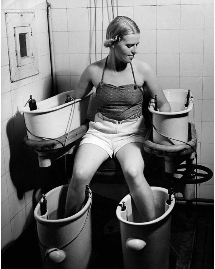 28张老照片告诉,以前的女人为了美究竟有多拼