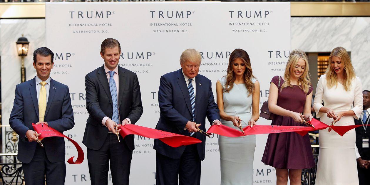 主流媒体:离任后,特朗普家族和生意将被人嫌弃