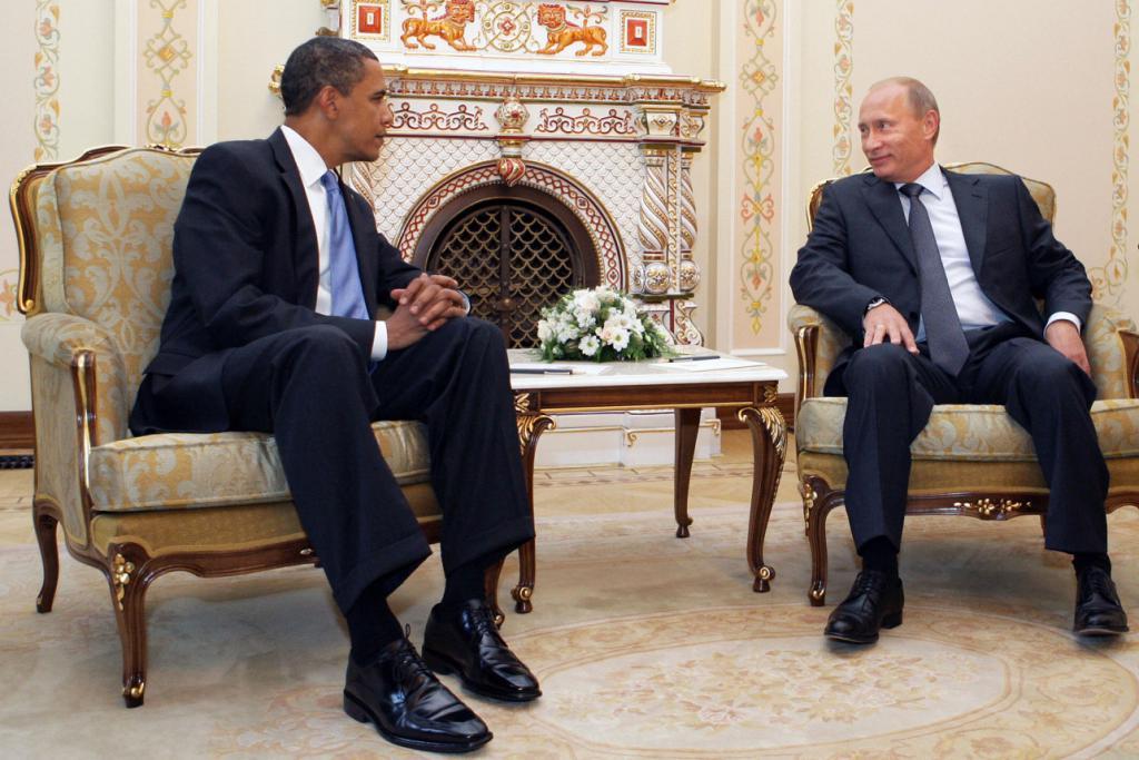 奥巴马爆料:首次会面时,普京怒斥美国 45 分钟