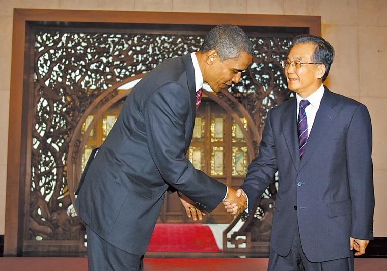 奥巴马访中国遭全监控 骆家辉与偷窥特工撞个正着