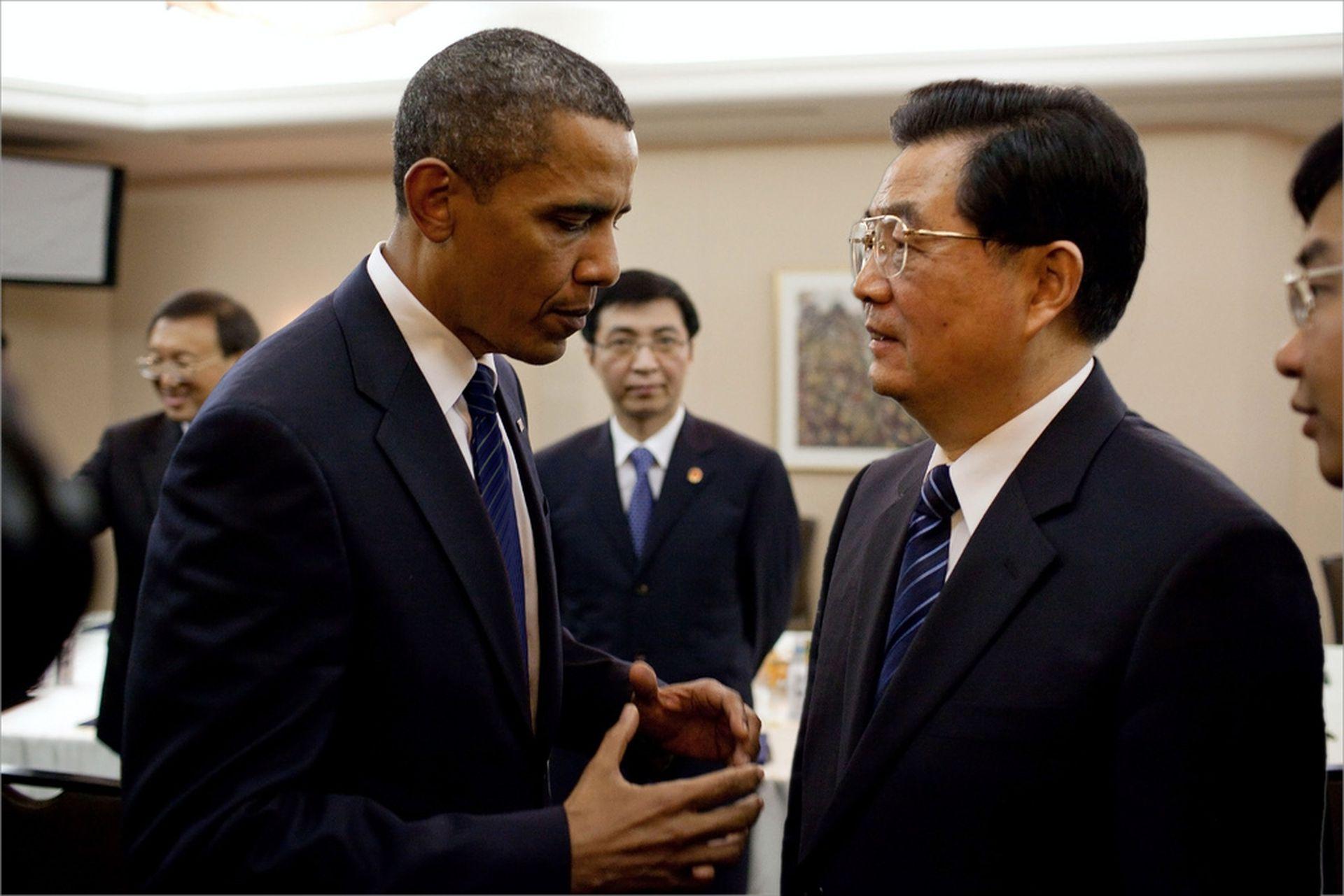 奥巴马新书大揭内幕 对胡温评价差异竟这么大