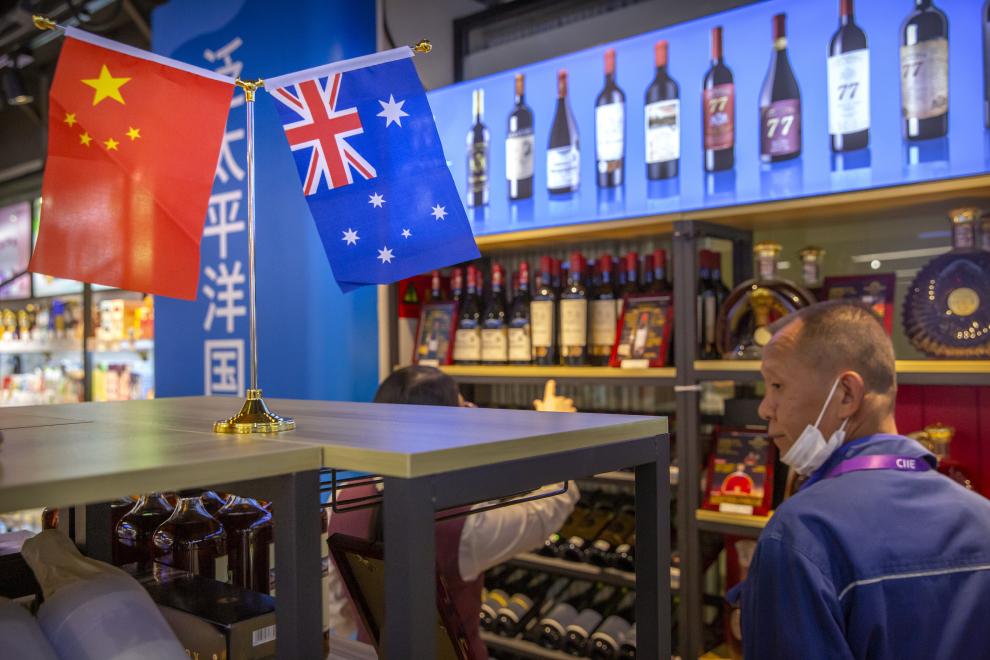 """民主红酒:最近世界掀起""""喝澳洲红酒抗中国""""运动"""