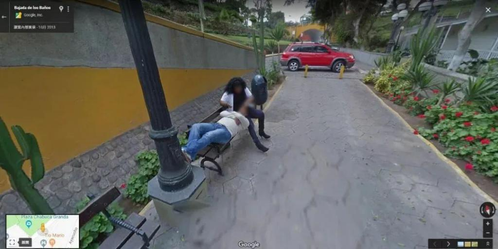 """从谷歌得知自己被戴绿帽:有多少人被谷歌地图""""偷拍""""过?"""