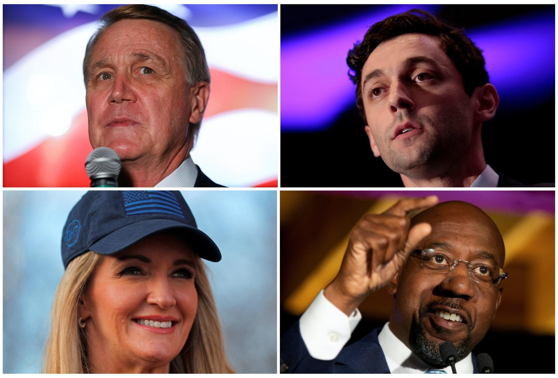 民主党确定乔州决选两席全拿 拜登可控两院