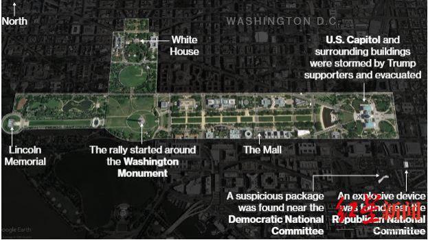 """""""占领""""国会大厦的他们如何冲入那里,又从那里偷走了什么?"""