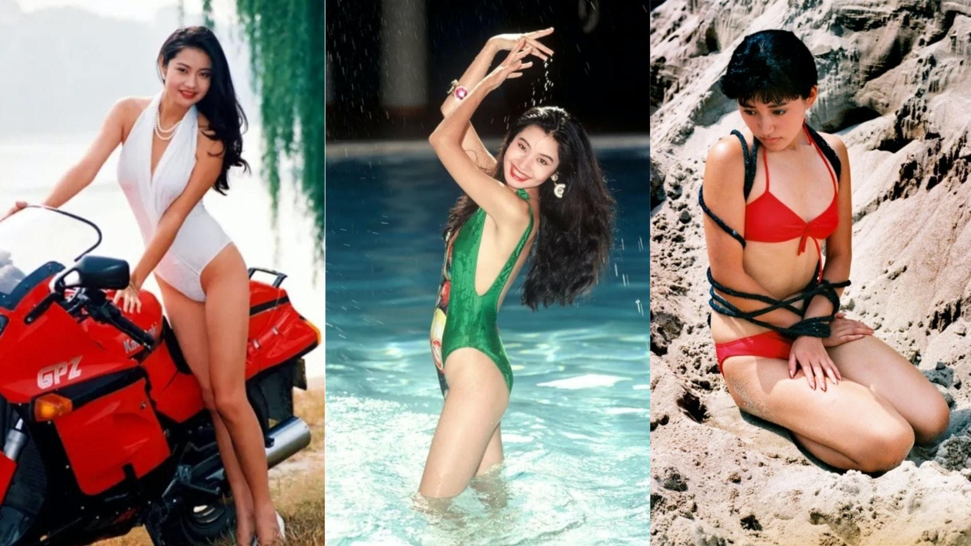 当年这美女泳衣照被嘲低俗 今被誉最纯淨中国美学