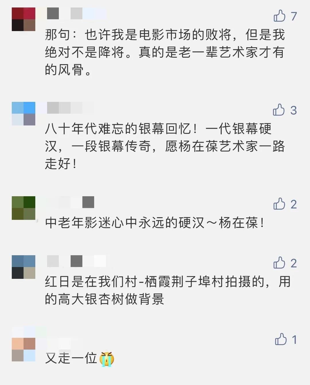 """噩耗!""""中国银幕第一硬汉""""离世"""