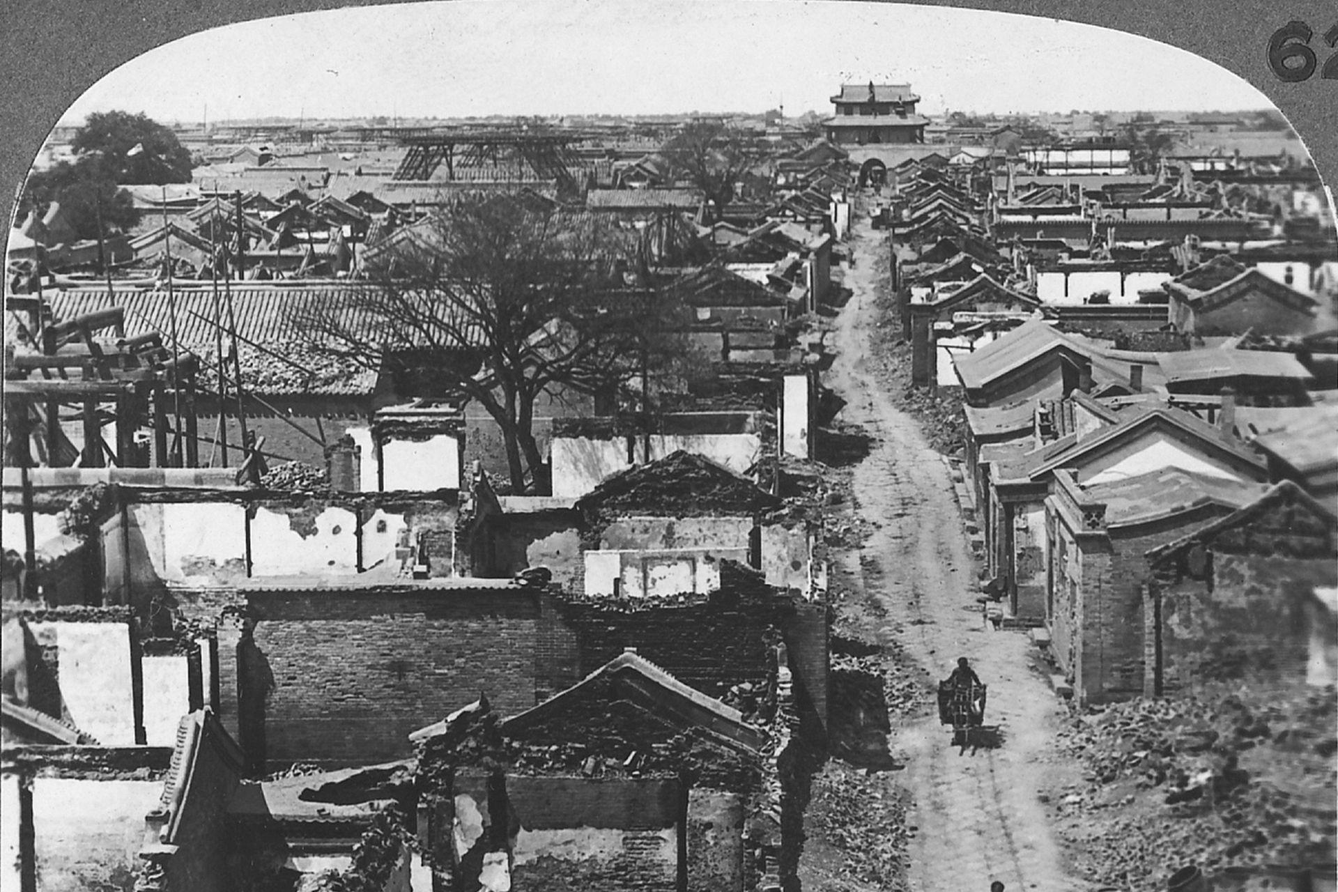 1900年的动乱中国 老照片记录下当时的天津