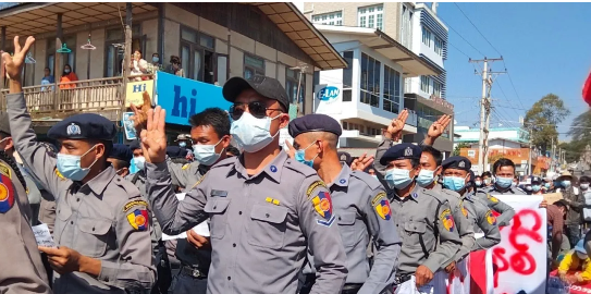 缅甸:只要民众不配合,独裁政府就难以运行