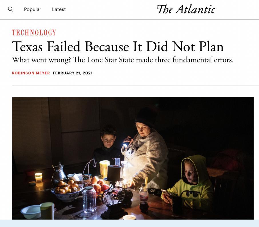 """美国社会反思得州灾情:基建差、效率低还""""甩锅"""""""