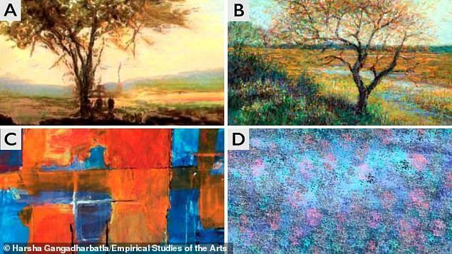 画家将被取代?这些是AI画作 与人类画作已无区别?