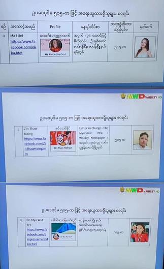 态势恶化!缅甸警方对 20 名演艺人员发布逮捕令