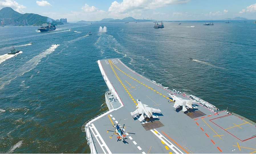南海懟上了!羅斯福號、遼寧艦都來了 航母對峙恐常態化