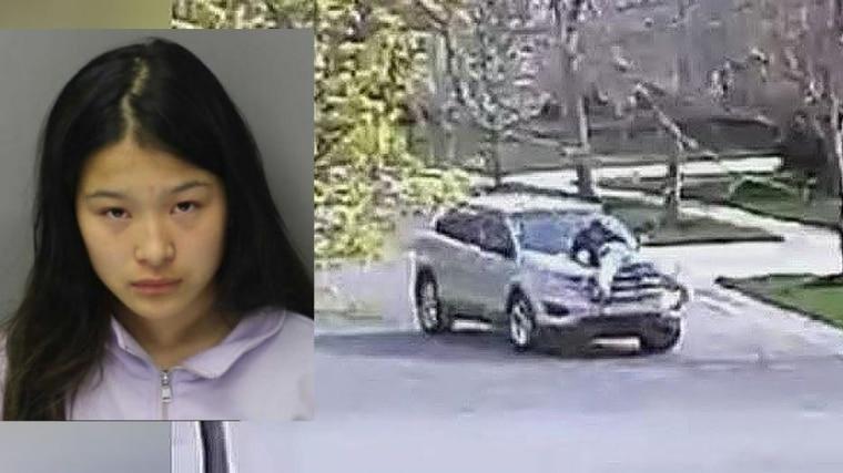 美国17岁前花式滑冰华裔少女 开车将父亲撞成重伤