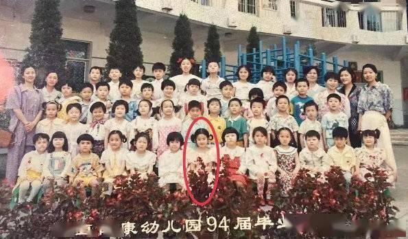 从小美到大!刘亦菲幼儿园毕业留念照曝光