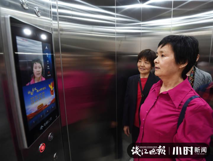 一次1块钱刷脸坐电梯 这小区电梯加装模式怎么样
