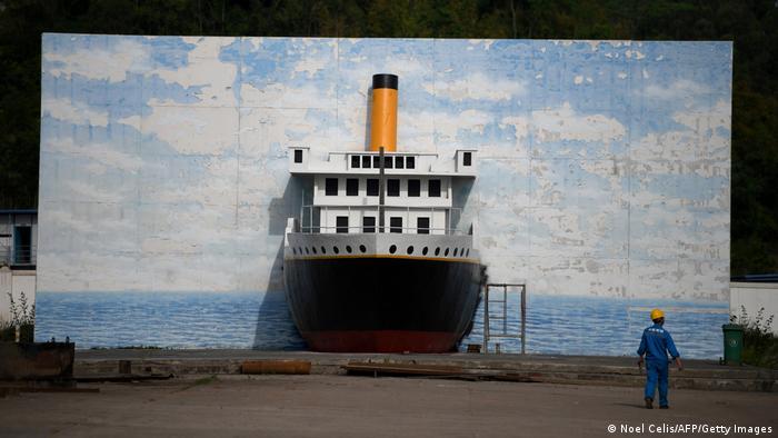 """按原尺寸,中国人打造自己的""""泰坦尼克号"""""""
