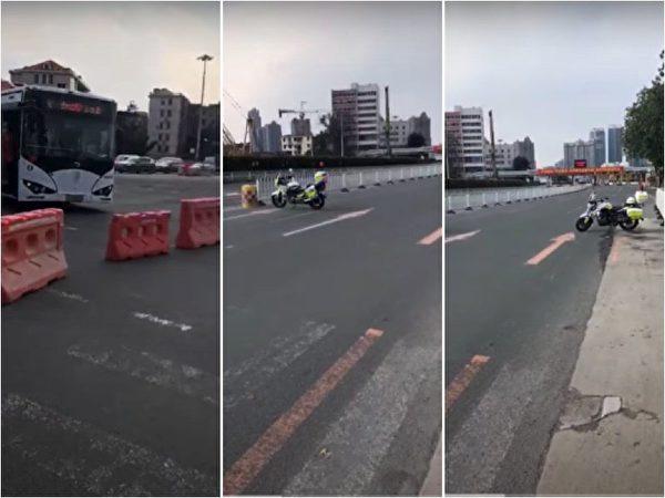 广州疫情势头凶猛 无人机运货 地铁站空无一人