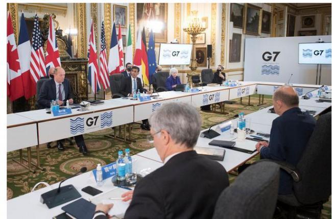 G7达成历史性税收协议 下一步说服中国是硬仗