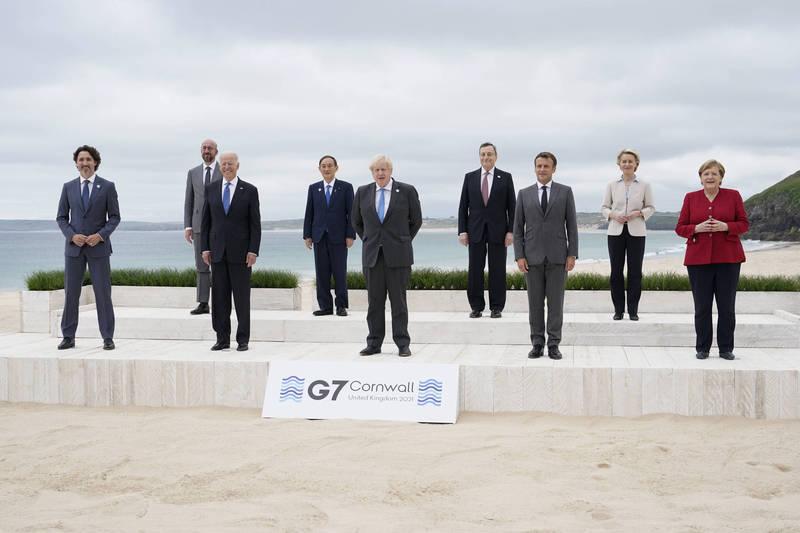 "G7峰会签署""卡比斯湾宣言"" 确保大流行不再发生"