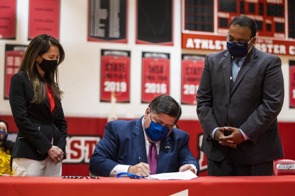 历史的一大步:伊利诺伊州成为首个签署该法案的州