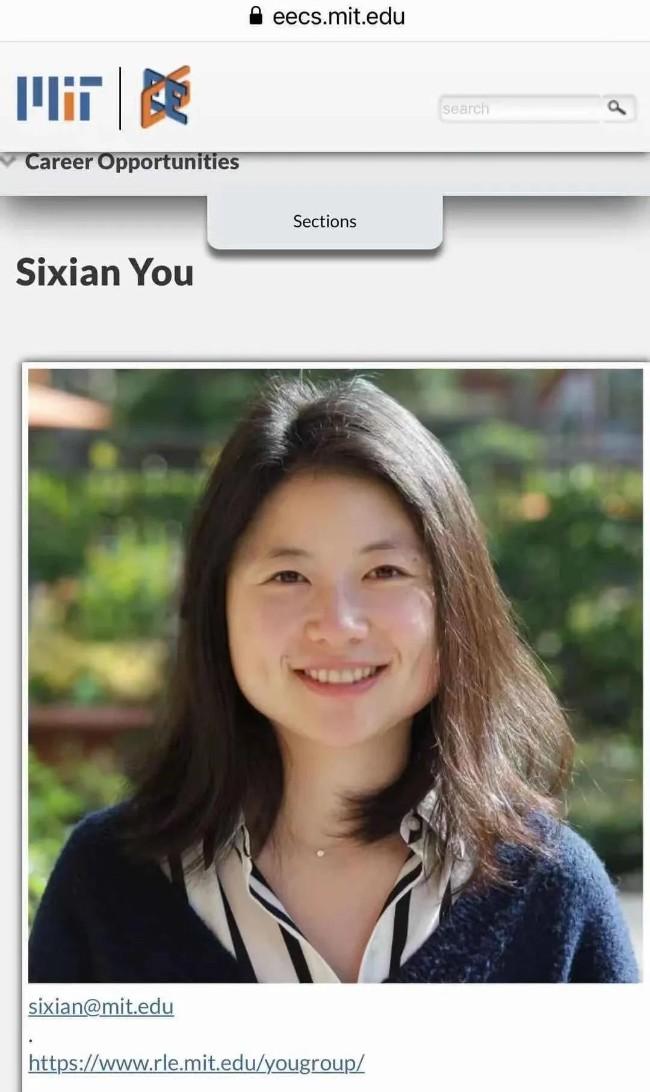 喜闻三中国年轻学子成MIT教授 登上世界科学舞台