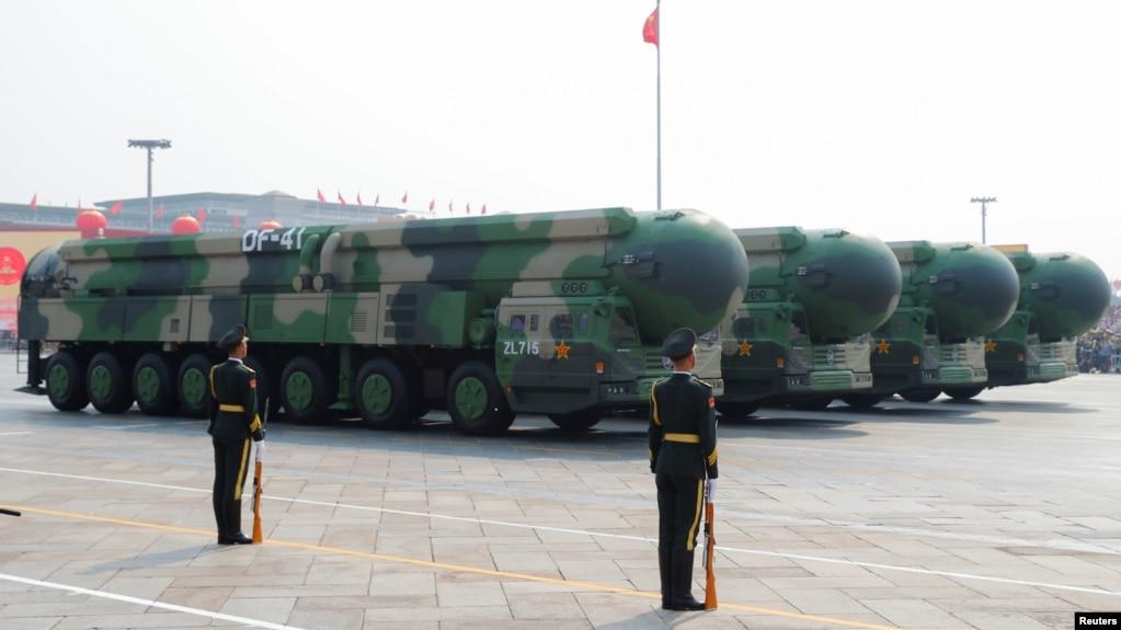 故布疑阵? 甘肃发现众多并密集设施 外媒疑为核武发射井