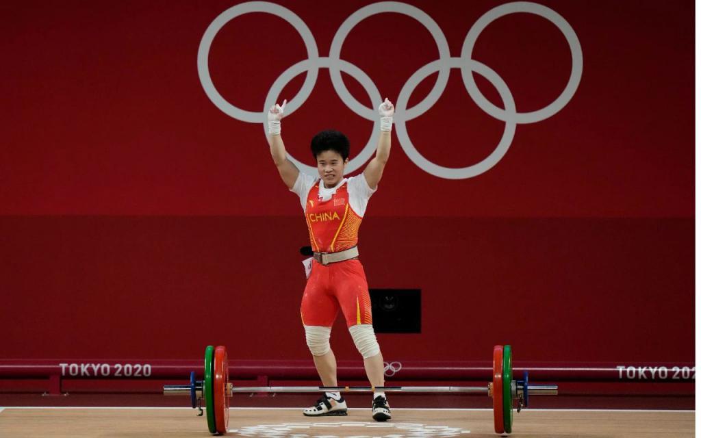 中国代表团夺第二金!破纪录的力量来自枸杞?