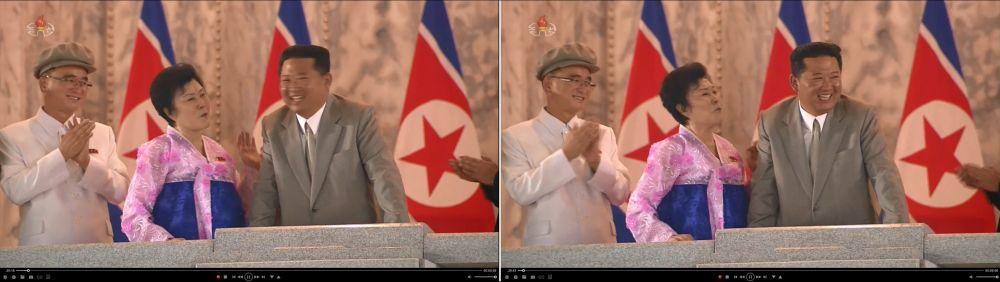 朝鲜阅兵式上 和金正恩搭肩又勾手的人竟然是她!