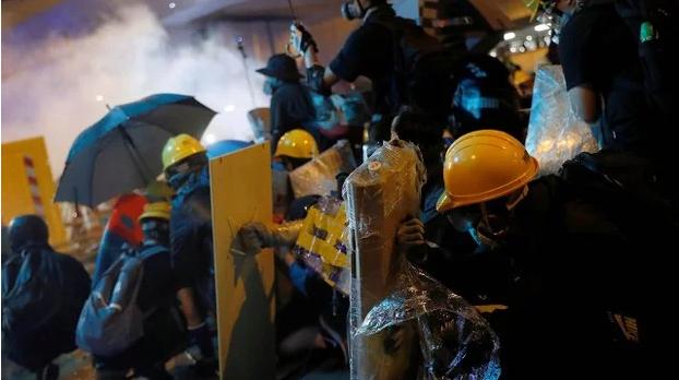 頭一個 大陸留港學生參與警民衝突被判入獄(圖)