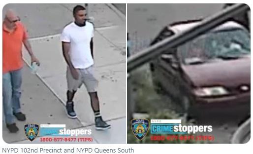 纽约:壮男当街抢孩子 勇母追车神力一扯救回 视频曝光