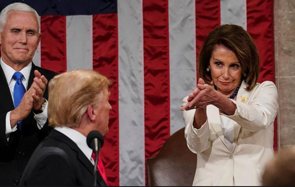 佩洛西誓言弹劾川普:他是对美国民主迫在眉睫威胁