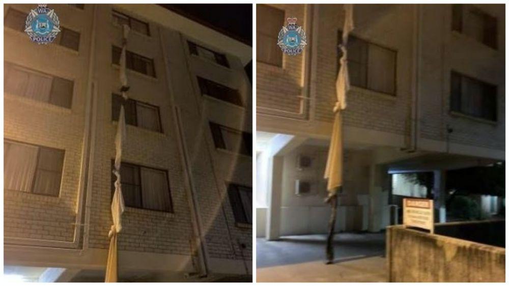 澳39岁男用床单逃出隔离酒店 8小时后终被捕