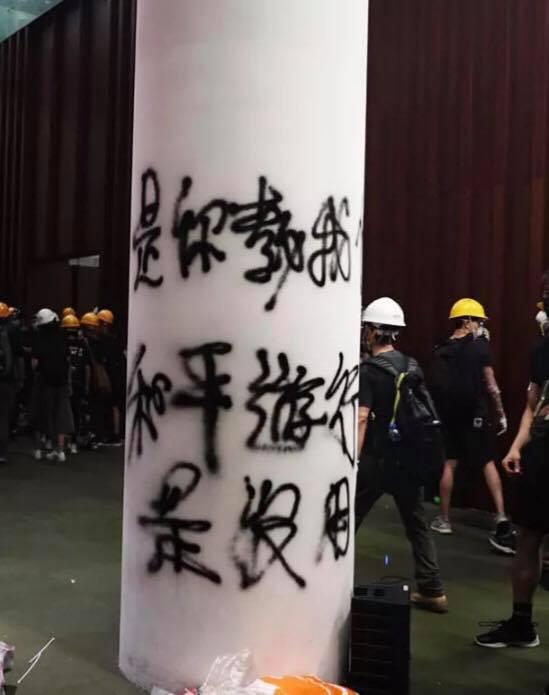冲击香港立法会 他们不是抗议而是自杀求死谏
