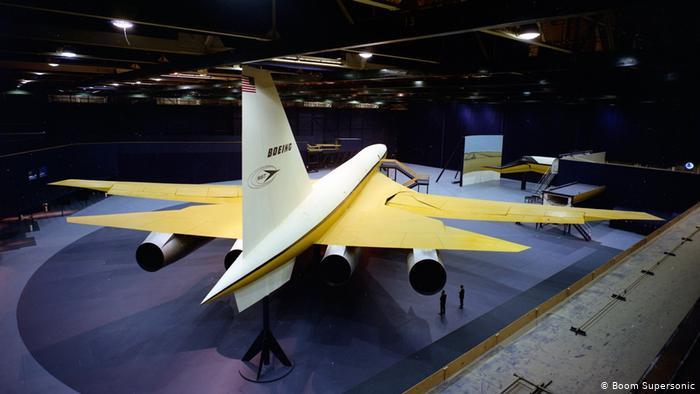 美国卷土重来 新一代超音速测试客机亮相