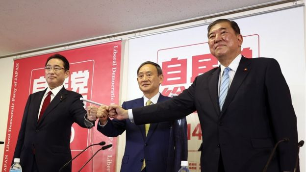 安倍继任者出炉!菅义伟成日本自民党新总裁