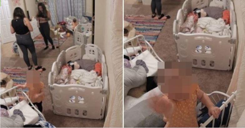 """嬰兒房頻傳詭異""""救我""""聲 新手媽見監視器嚇:太恐怖"""