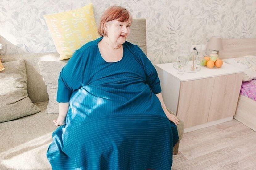 女子700斤一直卧床,减掉400斤后却因病离世