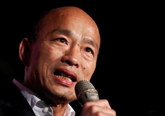 韓國瑜敗選總統 將麵對高雄市長罷免危機(圖)