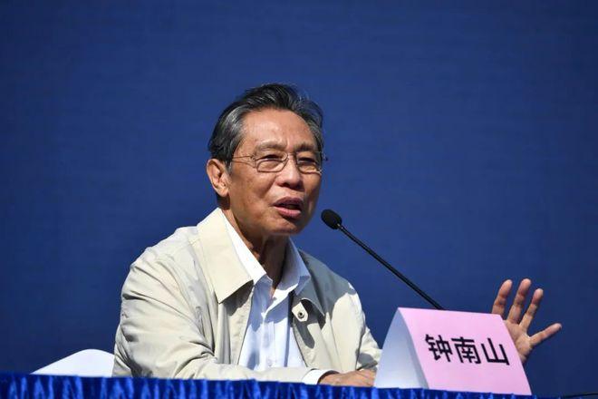 钟南山:因强力干预 中国两省避免了25万人感染