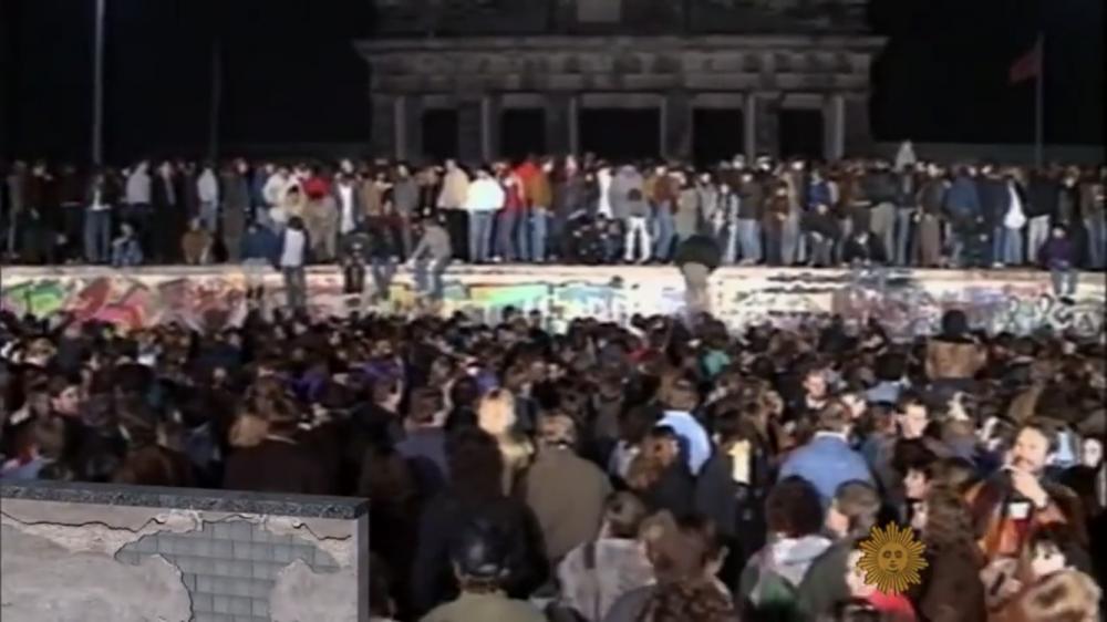 柏林墙倒塌是八九六四的功劳