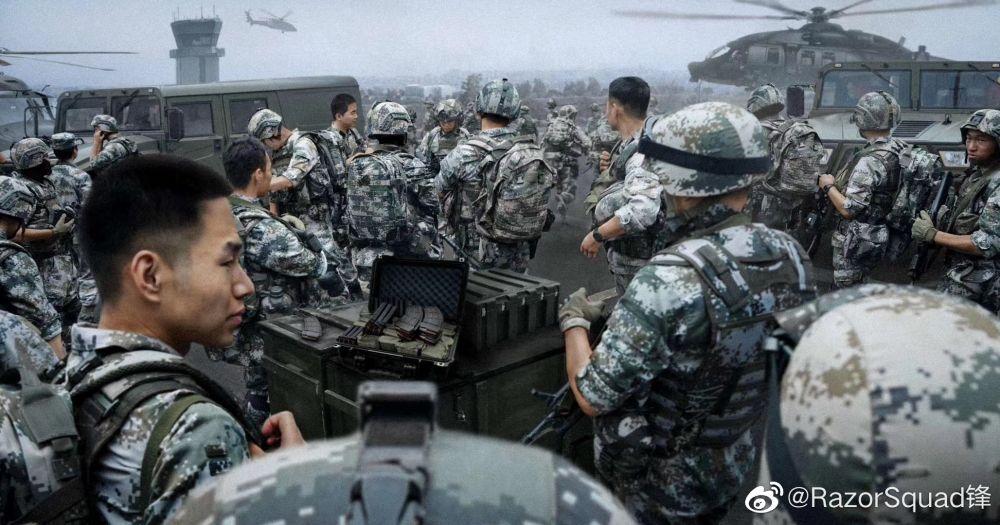 出征!美院學生攝影作品《武力統一》意淫攻下台灣