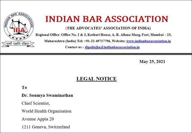 不赞成新冠疗法 世卫首席科学家面临印度死刑指控
