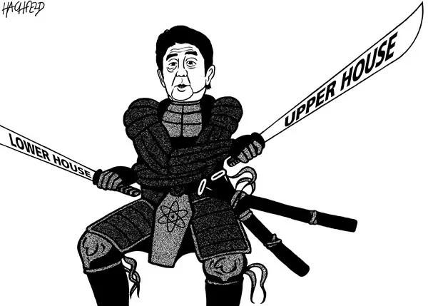 君子豹变,狠角色安倍晋三:一度是中国人的笑料